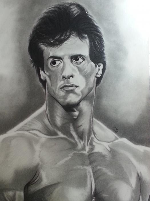 Sylvester Stallone by Callahan